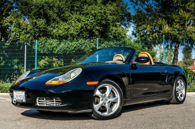 2001 Porsche Boxster  AUTO - LTHR - 95K MILES - 1-OWNER Reseda, CA 3