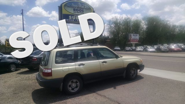2001 Subaru Forester L Manual = New Head Gaskets Timing Belt Water Pump Golden, Colorado 0