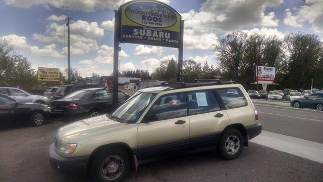 2001 Subaru Forester L Manual = New Head Gaskets Timing Belt Water Pump Golden, Colorado 1