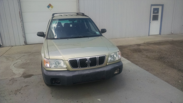 2001 Subaru Forester L Manual = New Head Gaskets Timing Belt Water Pump Golden, Colorado 2