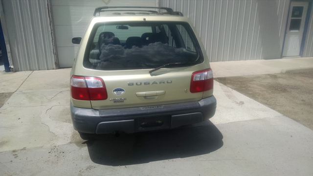 2001 Subaru Forester L Manual = New Head Gaskets Timing Belt Water Pump Golden, Colorado 3