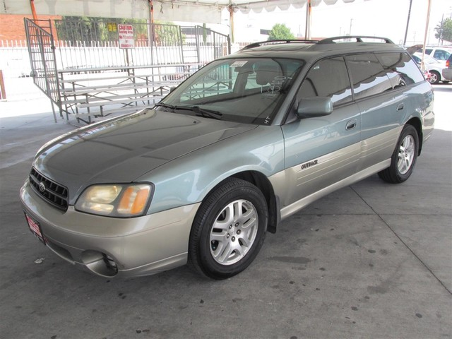 2001 Subaru Outback Ltd This particular Vehicles true mileage is unknown TMU Please call or e-