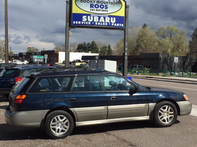2001 Subaru Outback = New Timing Belt & Water Pump Golden, Colorado 0