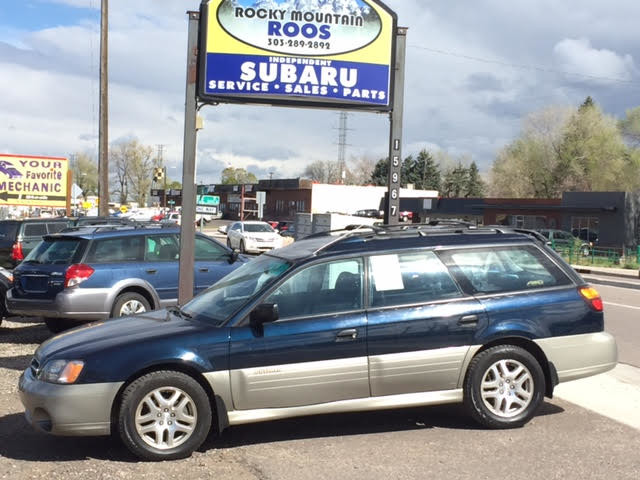 2001 Subaru Outback = New Timing Belt & Water Pump Golden, Colorado 2