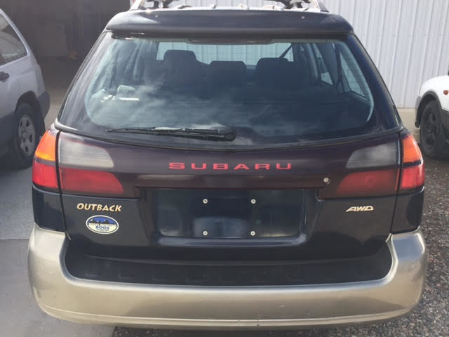 2001 Subaru Outback = New Timing Belt & Water Pump Golden, Colorado 3