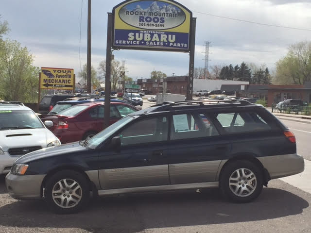 2001 Subaru Outback Manual = New Clutch; Recent HGasket & TBelt/WPump Golden, Colorado 2