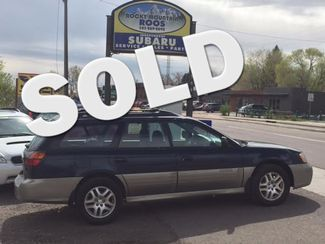 2001 Subaru Outback Manual = New Clutch; Recent HGasket & TBelt/WPump Golden, Colorado