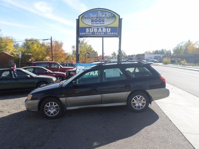 2001 Subaru Outback H6 L.L. Bean Edition. New H/G Golden, Colorado 3