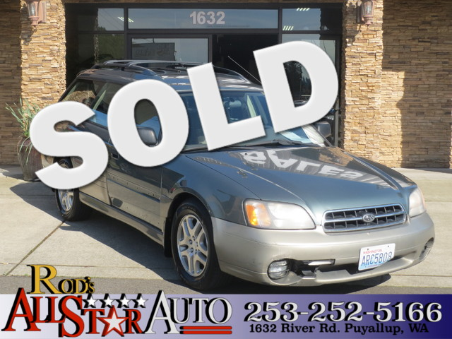 2001 Subaru Outback AWD The CARFAX Buy Back Guarantee that comes with this vehicle means that you