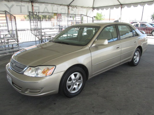 2001 Toyota Avalon XL wBucket Seats Please call or e-mail to check availability All of our veh