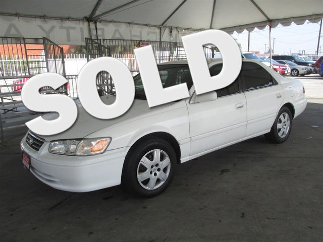 2001 Toyota Camry CE Please call or e-mail to check availability All of our vehicles are availa