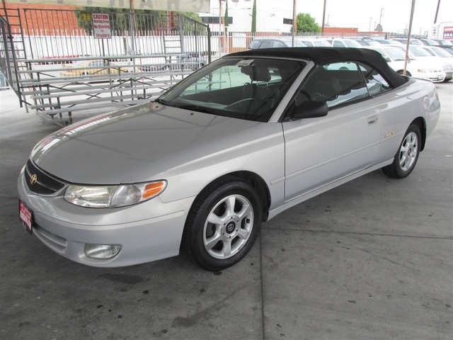 2001 Toyota Camry Solara SLE Please call or e-mail to check availability All of our vehicles ar