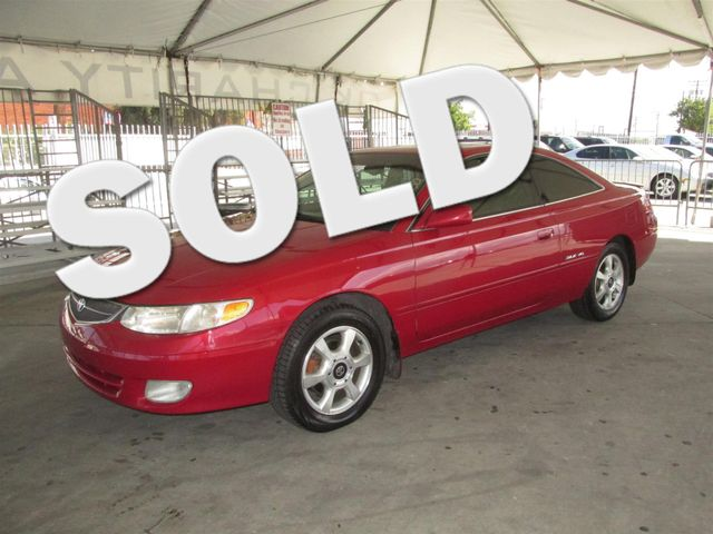 2001 Toyota Camry Solara SE Please call or e-mail to check availability All of our vehicles are