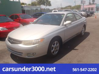 2001 Toyota Camry Solara SLE Lake Worth , Florida 1