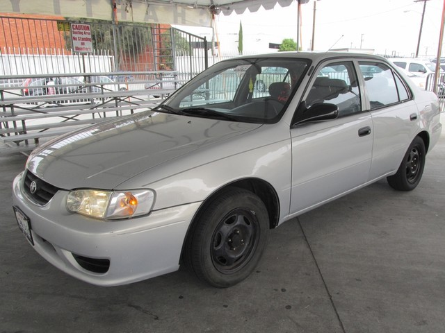2001 Toyota Corolla CE Please call or e-mail to check availability All of our vehicles are avail