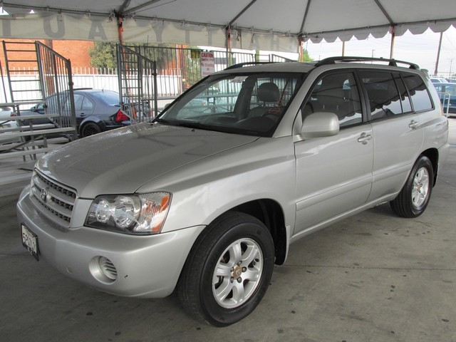 2001 Toyota Highlander Please call or e-mail to check availability All of our vehicles are avail