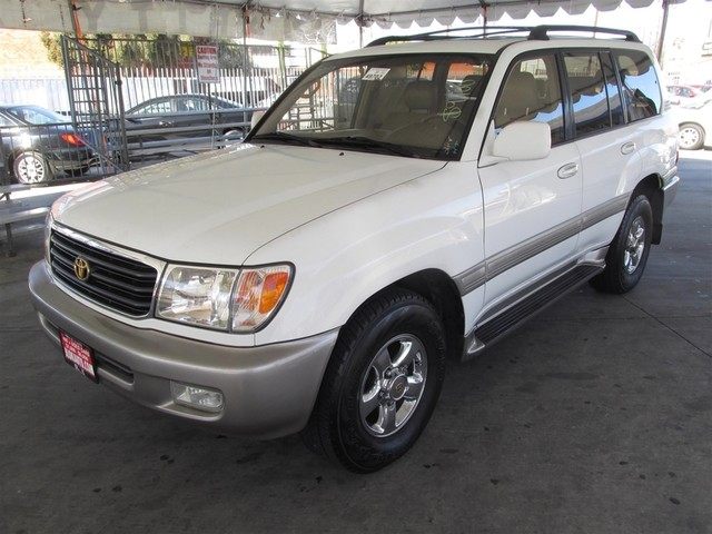 2001 Toyota Land Cruiser This particular Vehicle comes with 3rd Row Seat Please call or e-mail to