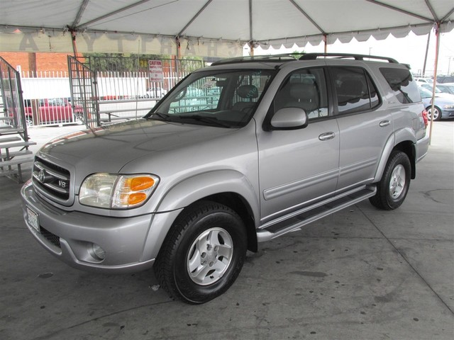 2001 Toyota Sequoia Limited Please call or e-mail to check availability All of our vehicles are