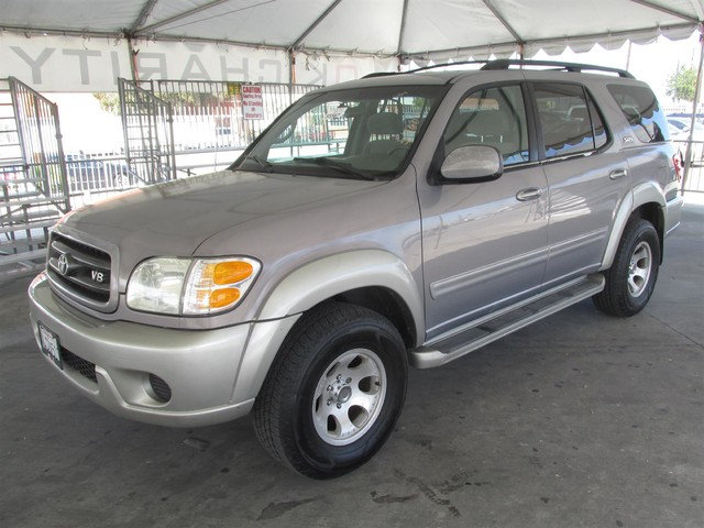 2001 Toyota Sequoia SR5 This particular Vehicle comes with 3rd Row Seat Please call or e-mail to