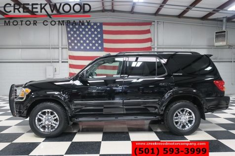 2001 Toyota Sequoia Limited 4x4 Black Leather Roof Chrome 18s 1 Owner in Searcy, AR