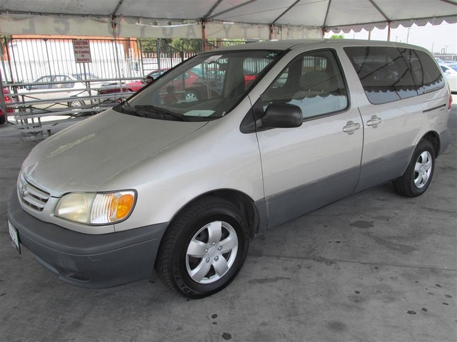 2001 Toyota Sienna CE This particular Vehicle comes with 3rd Row Seat Please call or e-mail to ch