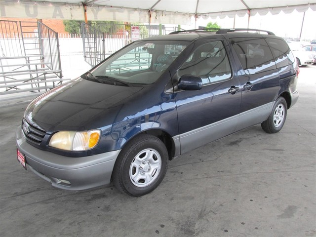 2001 Toyota Sienna XLE This particular Vehicle comes with 3rd Row Seat Please call or e-mail to c