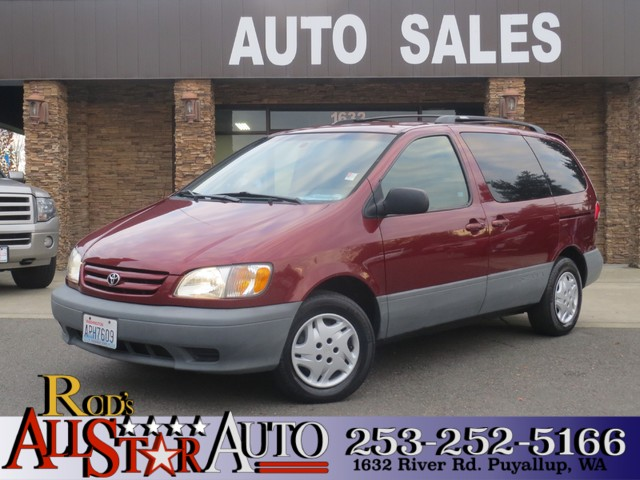 2001 Toyota Sienna LE The CARFAX Buy Back Guarantee that comes with this vehicle means that you ca