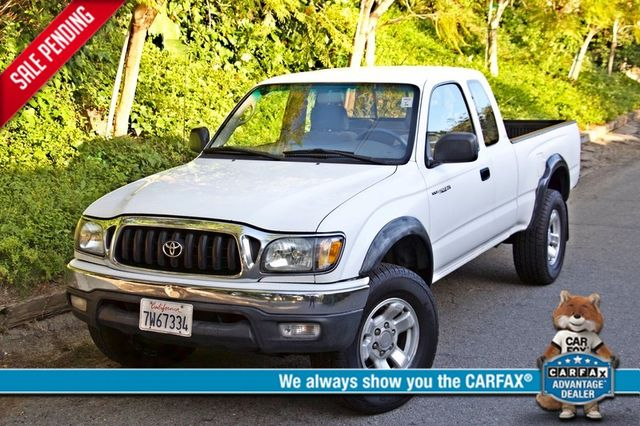 2001 Toyota TACOMA PRERUNNER 1-OWNER AUTOMATIC V6 SERVICE RECORDS NEW TIRES Woodland Hills, CA 0