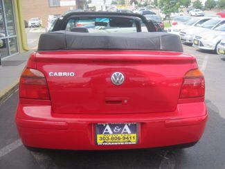 2001 Volkswagen Cabrio GLX Englewood, Colorado 5