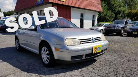 2001 Volkswagen Golf GL in Frederick, Maryland