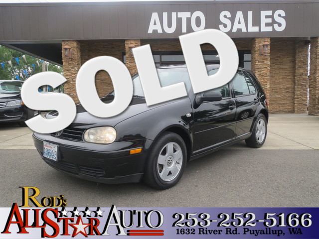 2001 Volkswagen Golf GLS The CARFAX Buy Back Guarantee that comes with this vehicle means that you