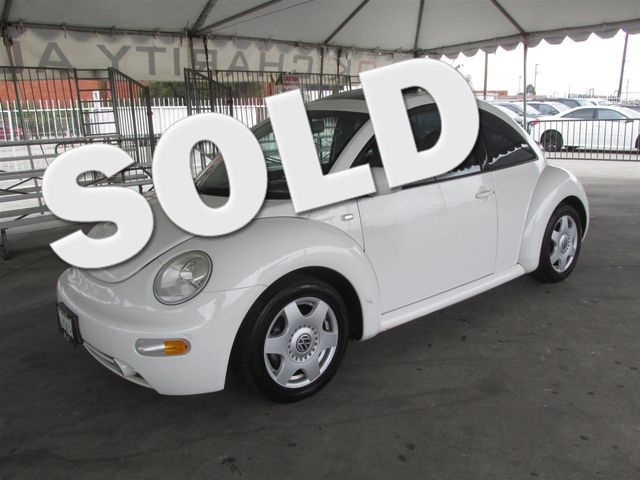 2001 Volkswagen New Beetle GLX Please call or e-mail to check availability All of our vehicles