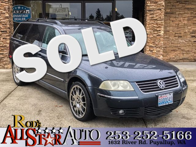 2001 Volkswagen New Passat GLX The CARFAX Buy Back Guarantee that comes with this vehicle means th