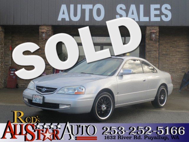 2002 Acura CL Type S We got the Acura Cl with no body damage at all Used cars generally have wear