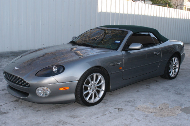 2002 Aston Martin DB7 Vantage Convertible Houston, Texas 2