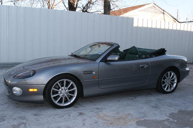2002 Aston Martin DB7 Vantage Convertible Houston, Texas 8