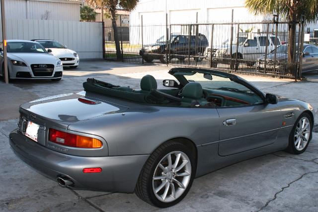 2002 Aston Martin DB7 Vantage Convertible Houston, Texas 7