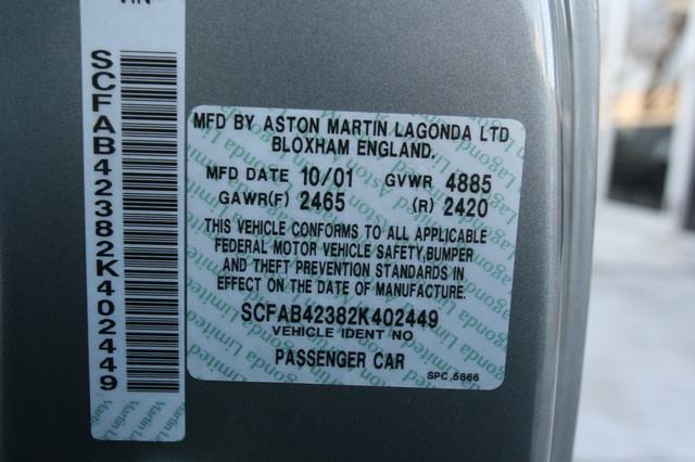 2002 Aston Martin DB7 Vantage Convertible Houston, Texas 14