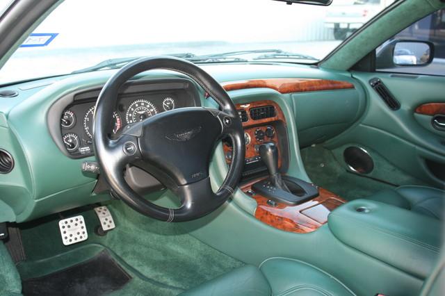 2002 Aston Martin DB7 Vantage Convertible Houston, Texas 12