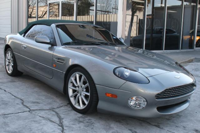 2002 Aston Martin DB7 Vantage Convertible Houston, Texas 0
