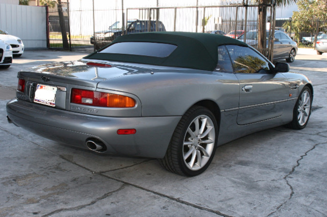 2002 Aston Martin DB7 Vantage Convertible Houston, Texas 4