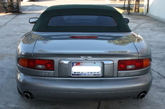 2002 Aston Martin DB7 Vantage Convertible Houston, Texas 3