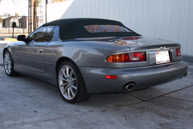 2002 Aston Martin DB7 Vantage Convertible Houston, Texas 6
