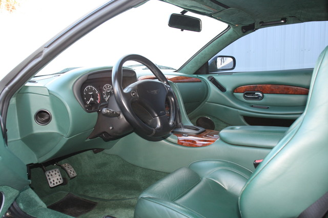 2002 Aston Martin DB7 Vantage Convertible Houston, Texas 10