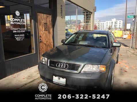 2002 Audi Allroad Quattro Wagon All Wheel Drive Local Rebuilt Transmission Really Nice! Must See  in Seattle