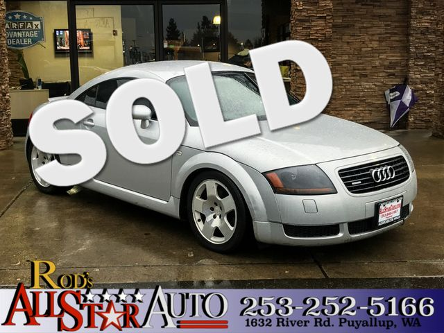 2002 Audi TT AWD The CARFAX Buy Back Guarantee that comes with this vehicle means that you can buy