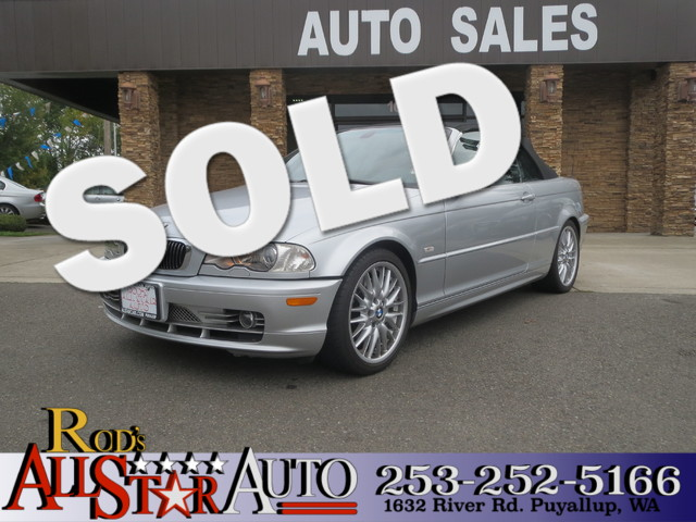2002 BMW 330Ci The CARFAX Buy Back Guarantee that comes with this vehicle means that you can buy w