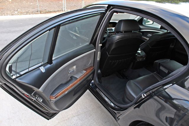 "2002 BMW 745Li SPORTS PKG AUTOMATIC NAVIGATION BLACK ON BLACK 19"" ALLOY WHLS SERVICE RECORDS! Woodland Hills, CA 32"