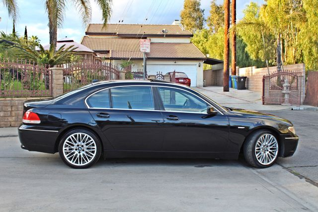 "2002 BMW 745Li SPORTS PKG AUTOMATIC NAVIGATION BLACK ON BLACK 19"" ALLOY WHLS SERVICE RECORDS! Woodland Hills, CA 9"