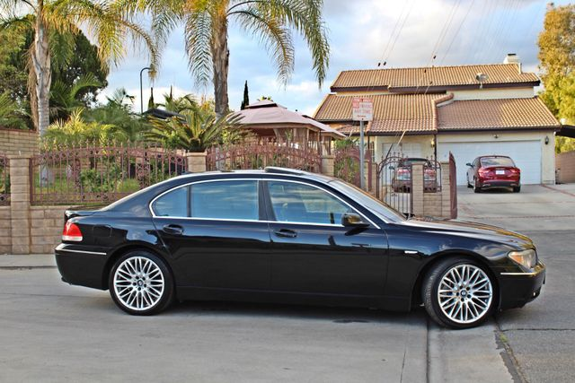 "2002 BMW 745Li SPORTS PKG AUTOMATIC NAVIGATION BLACK ON BLACK 19"" ALLOY WHLS SERVICE RECORDS! Woodland Hills, CA 10"